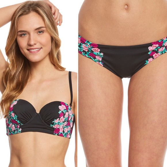 9444d9383ad06 Betsey Johnson Swim | Ballerina Rose Bikini | Poshmark